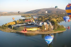 Canberra Hot Air Balloon Flight at Sunrise - Tourism Canberra