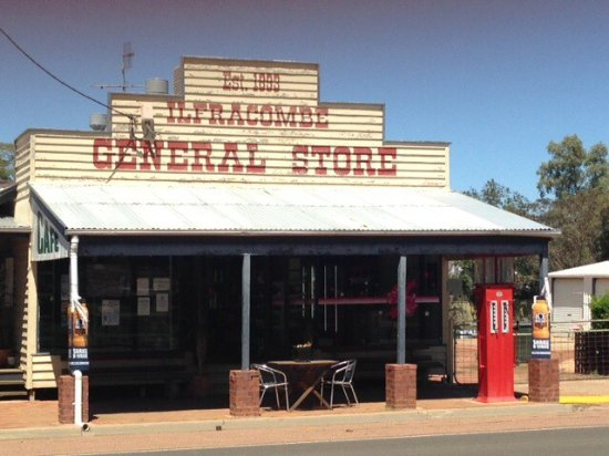 Ilfracombe General Store  Cafe - Tourism Canberra